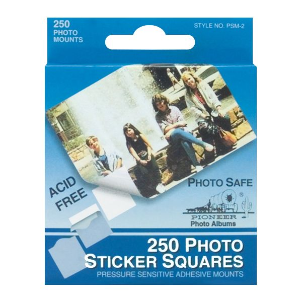 "Photo Sticker Squares .5"" 250/Pkg"
