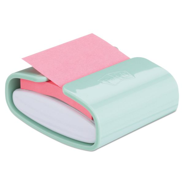 Post-it Pop-up Notes Super Sticky Pop-up Notes Super Sticky Pop-up Notes Wrap Dispenser, 3 x 3 Pads, Mint