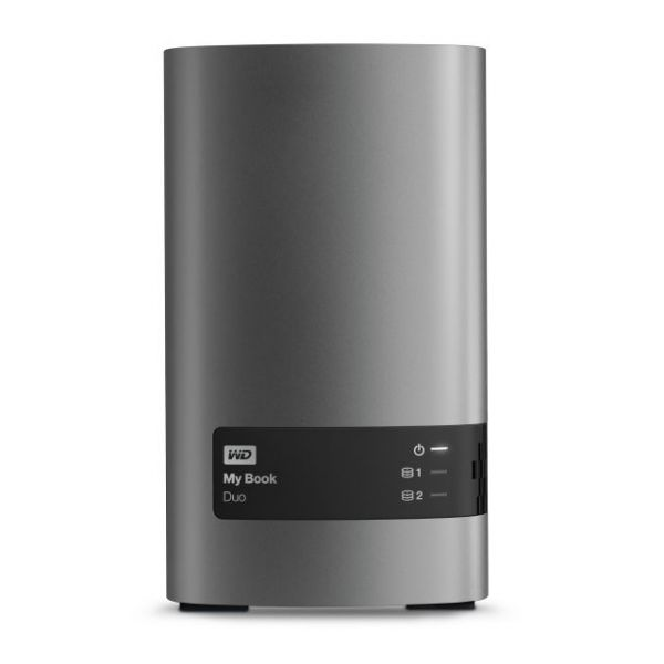 WD My Book Duo WDBLWE0120JCH-NESN DAS Array - 2 x HDD Supported - 12 TB Installed HDD Capacity