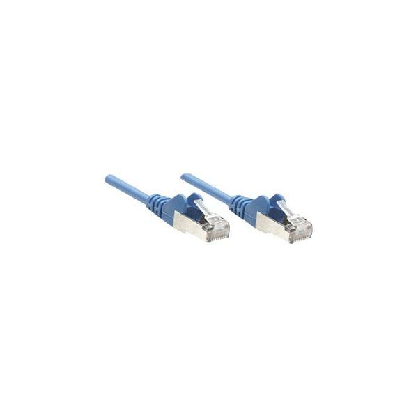 Intellinet Patch Cable, Cat6, UTP, 3', Blue