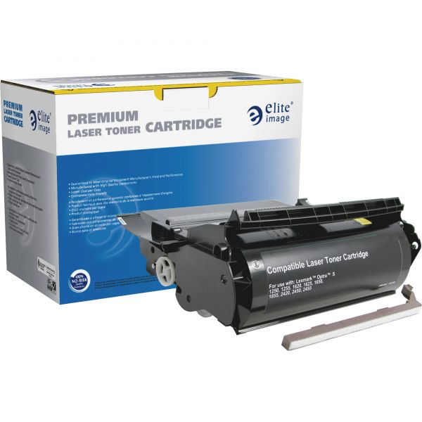 Elite Image Remanufactured Toner Cartridge - Alternative for Lexmark (1382625)