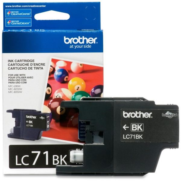 Brother LC71BK Black Ink Cartridge
