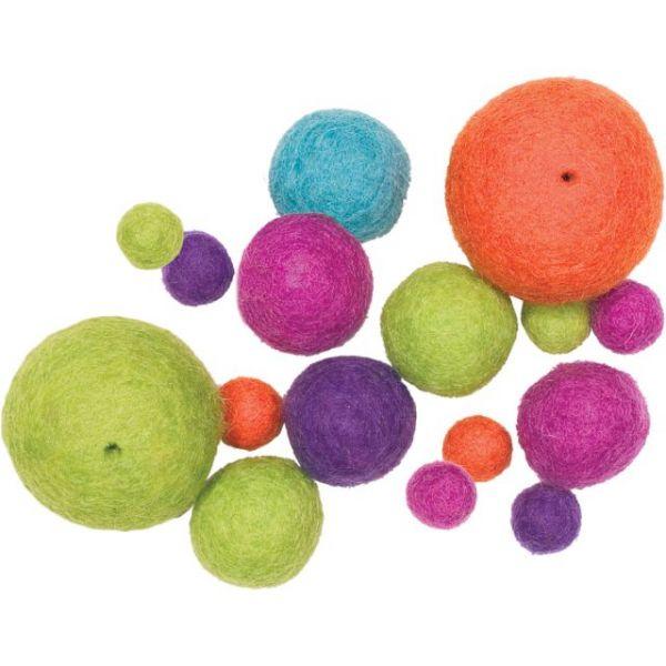 Feltworks Ball Assortment