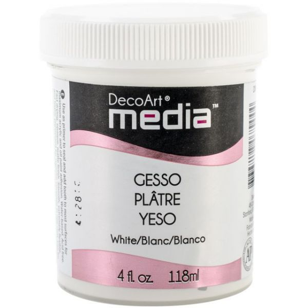 Deco Art White Media Gesso