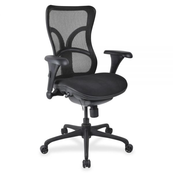 Lorell High-Back Fabric Seat Office Chair