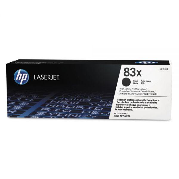 HP 83X High Yield Black Toner Cartridge (CF283X)