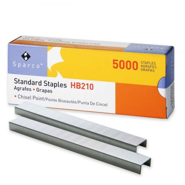 "Sparco Standard 1/4"" Staples"