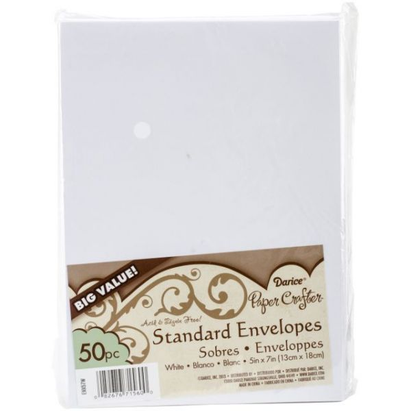 "Heavyweight A7 Envelopers (5.25""X7.25"") 50/Pkg"