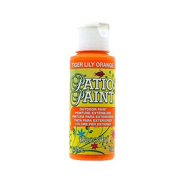 Deco Art Tiger Lily Orange Patio Paint