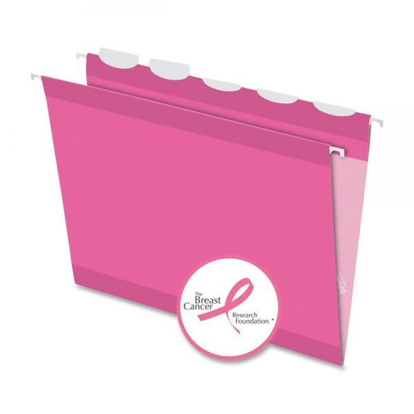 Pendaflex Ready-Tab Breast Cancer Awareness Hanging File Folder