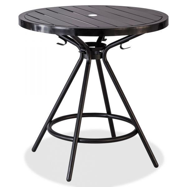 "Safco Mayline CoGo Tables, Steel, Round, 30"" Diameter x 29 1/2"" High, Black"