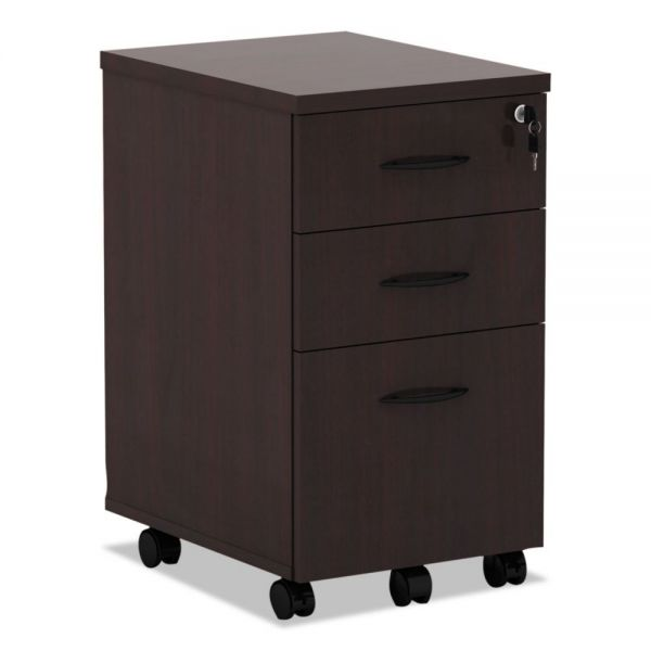 Alera Valencia 3-Drawer Mobile File Cabinet