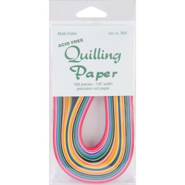 """Quilling Paper .125"""" 100/Pkg"""