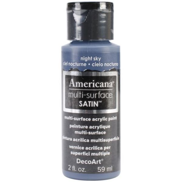 Deco Art Americana Multi-Surface Satin Night Sky Acrylic Paint