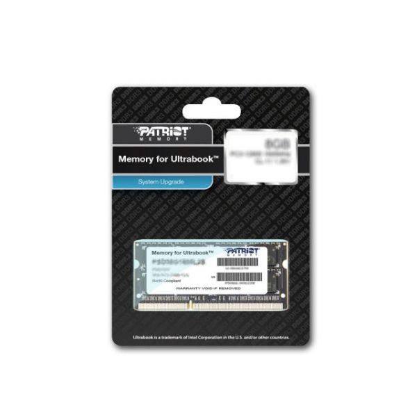 Patriot Memory 4GB PC3-10600 (1333MHz) Ultrabook SODIMM