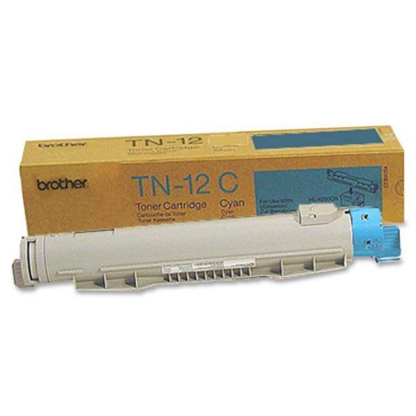 Brother TN12C Cyan Toner Cartridge