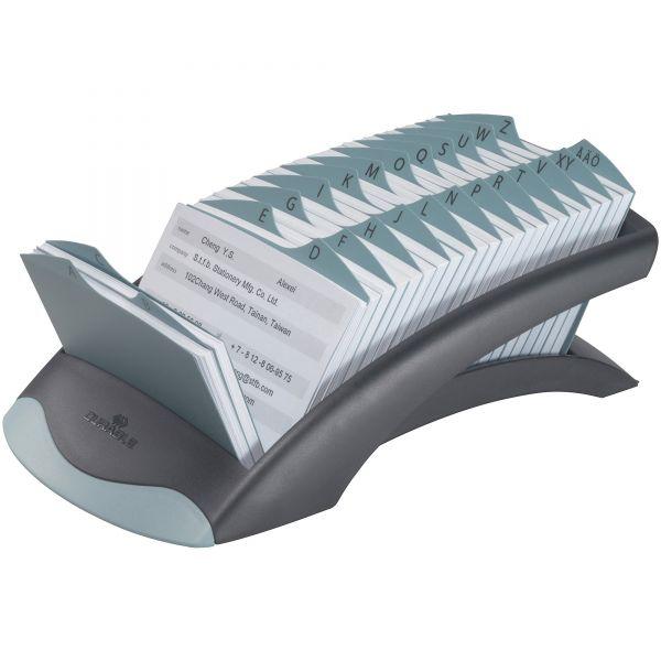 Durable TELINDEX Desk Address Card File