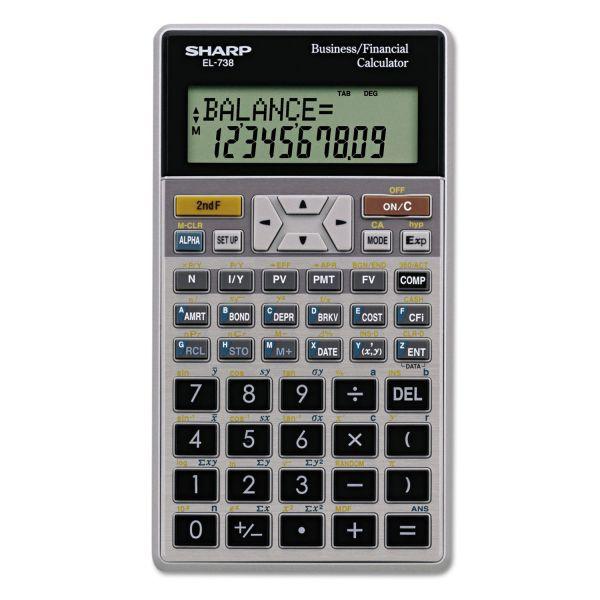 Sharp EL-738FB Financial Calculator