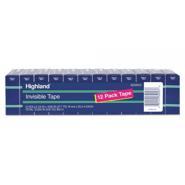 "Highland 3/4"" Invisible Tape Refills"