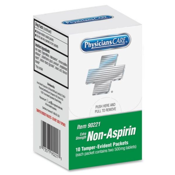 PhysiciansCare Xpress Extra Strength Non-Aspirin Packets