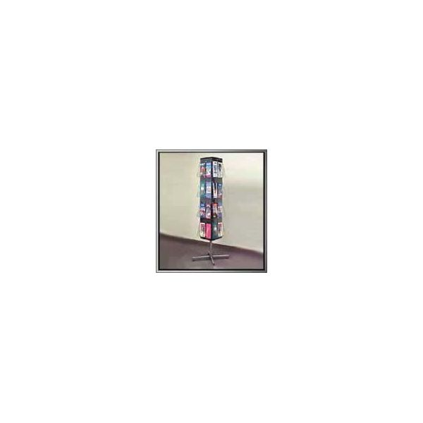 Deflecto 58051 Stand-Tall Revolving Floor Rack