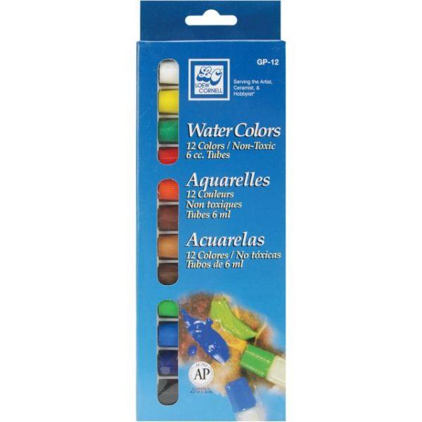 Watercolor Paints 6ml 12/Pkg