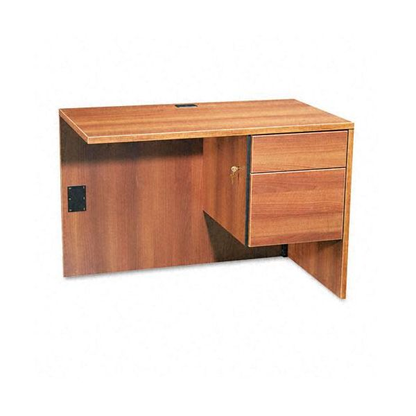 "Global Adaptabilities ""L"" Workstation Return, Right, 42w x 24d x 29h, Honey"