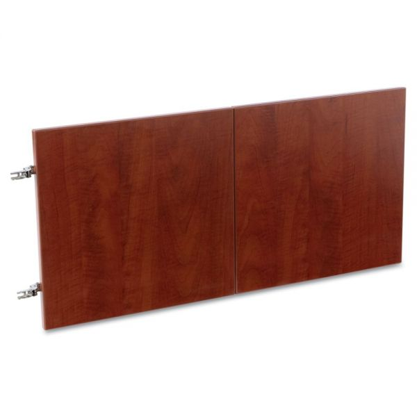 "Alera Valencia Hutch Bookcase Doors for 48""w ALEVA294815MY, 14 x 15 x 3/4, Med Cherry"