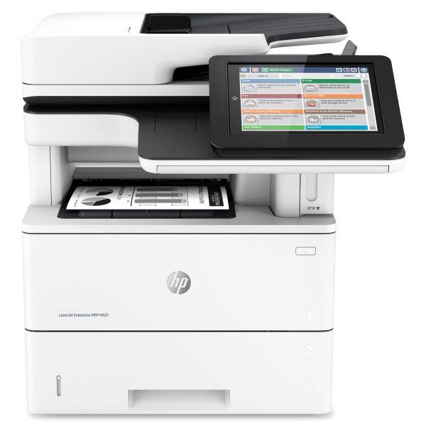 HP LaserJet Enterprise MFP M527f, Copy/Fax/Print/Scan