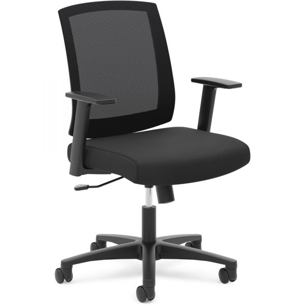 basyx by HON HVL511 Mesh Mid-Back Task Chair