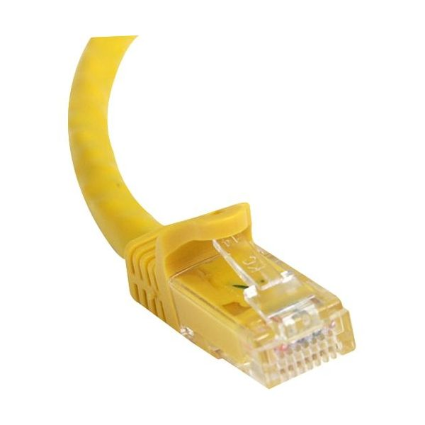 StarTech.com 75 ft Yellow Snagless Cat6 UTP Patch Cable