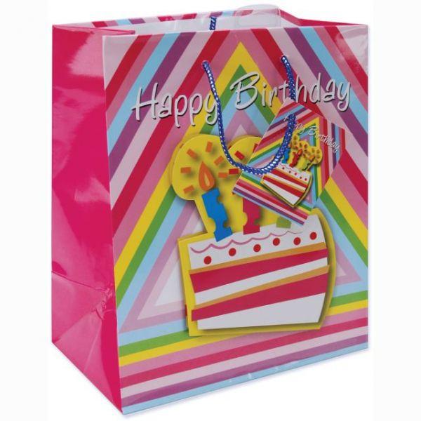 Large Happy Birthday Gift Bag