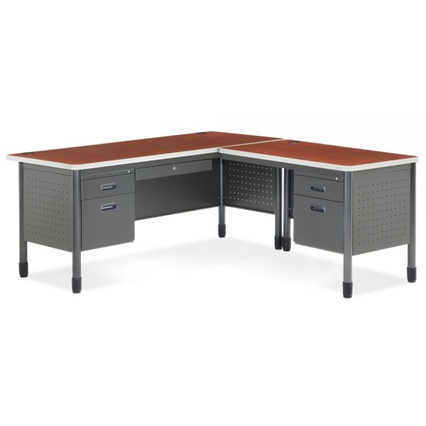 OFM Mesa Series L-Shaped Office Desk