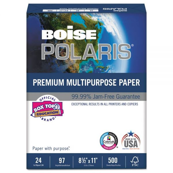 Boise POLARIS Premium Multi-Purpose White Copy Paper