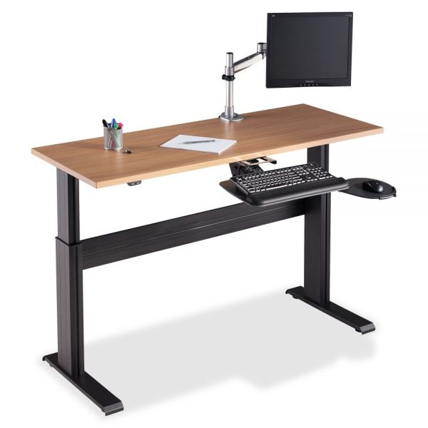 Lorell Height-adjustable Workstation Tabletop - Latte