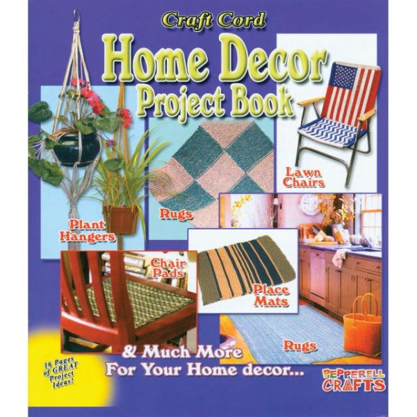 Craft Cord Home Decor Project Book