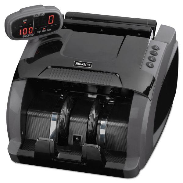 SteelMaster 4800 Currency Counter, 1080 Bills/Min, 9 1/2 x 11 1/2 x 8 3/4, Charcoal Gray