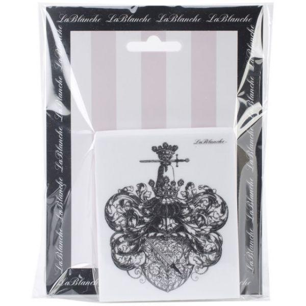 "LaBlanche Silicone Stamp 3""X3.5"""