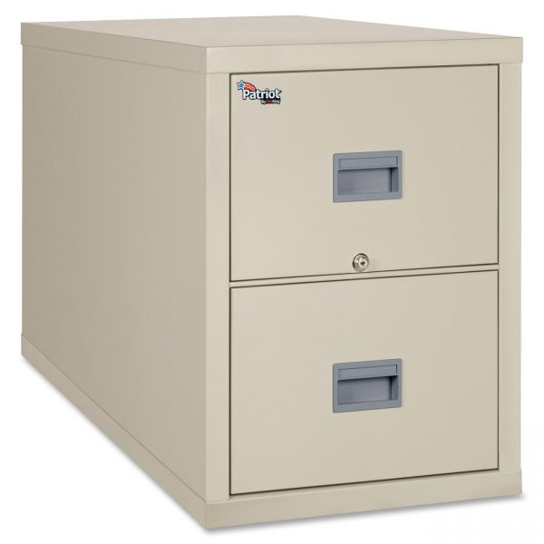 FireKing Patriot Insulated 2-Drawer Vertical File Cabinet