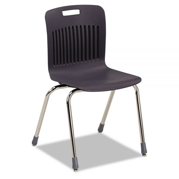 Virco Analogy Extra-Large Ergonomic Plastic Stacking Chairs