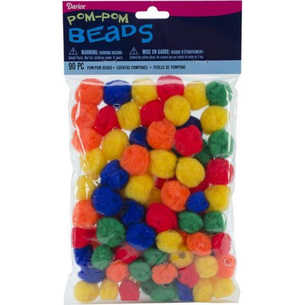 Pom-Pom Beads 90/Pkg