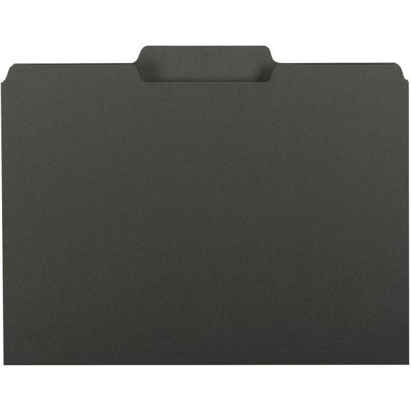 Smead Black Colored File Folders