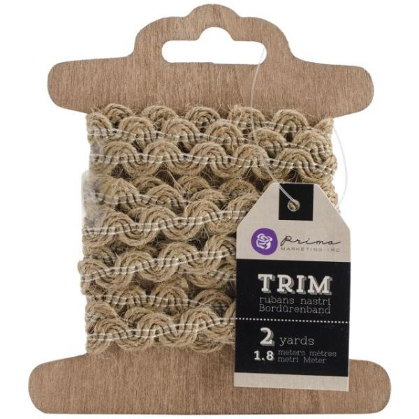 "Prima Marketing Trim Assortment .5""X2yd 3/Pkg"