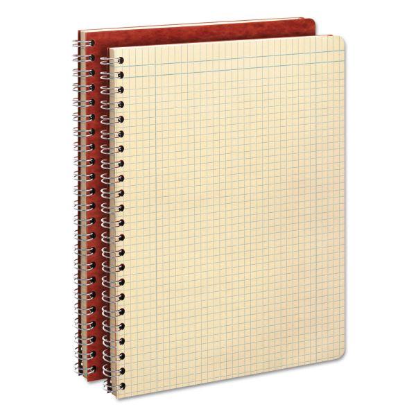 Ampad Computation Book, Quadrille Rule, 11 3/4 x 9 1/4, Antique Ivory, 76 Sheets