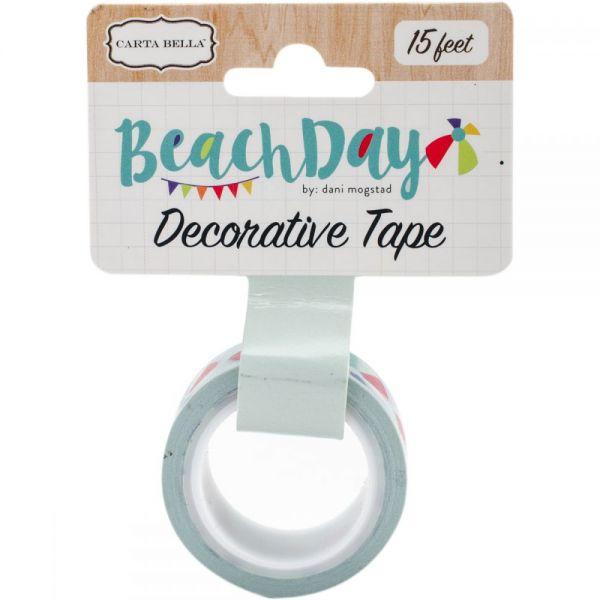 Beach Day Decorative Tape