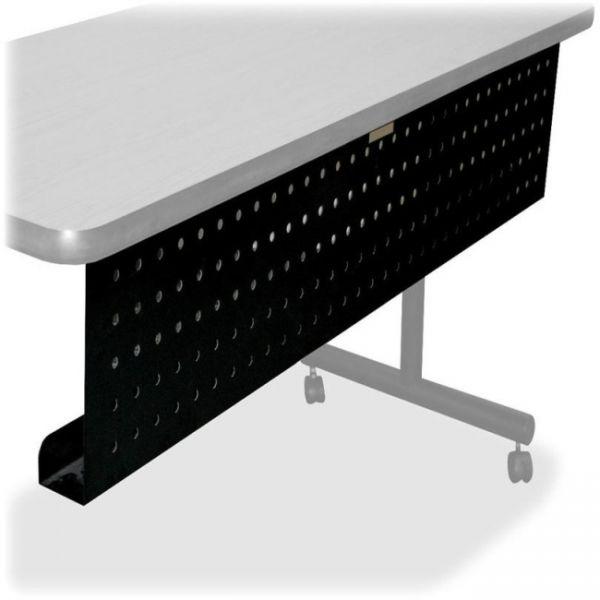 Lorell Rectangular Training Table Modesty Panel