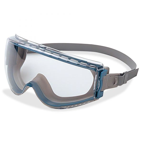 Uvex by Honeywell Stealth Safety Goggles, Teal Frame, Clear Lens