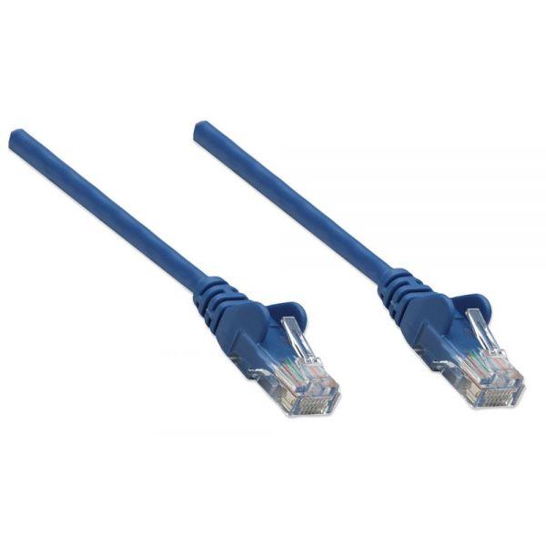 Intellinet Patch Cable, Cat5e, UTP, 3', Blue