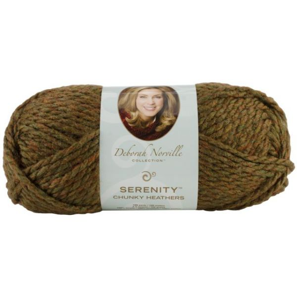 Deborah Norville Collection Serenity Chunky Heathers Yarn - Woodsman