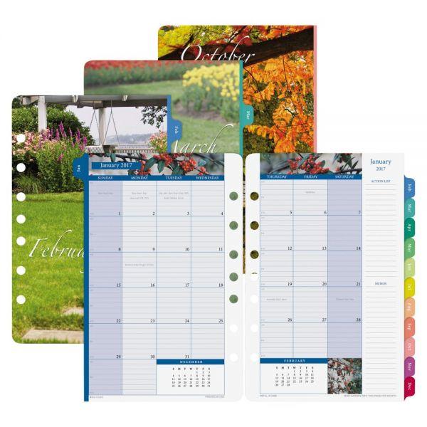 Day-Timer Garden Path Monthly Calendar Refill